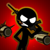 Stickman Laser Shoot